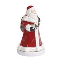 "картинка Villeroy&Boch ""Nostalgic Melody"" Музыкальная фигурка ""Санта Claus is coming to town"" 9x9x 15 см."