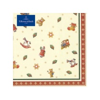 картинка Villeroy&Boch Winter Specials Toys Lunch Салфетка Streumotive 20 Штука 33x33 cm